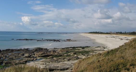 les plages de beg-meil