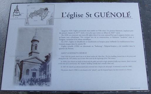 histoire église st guénolé
