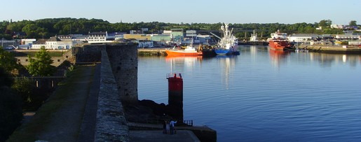 port de pêche concarneau