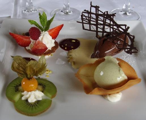 assortiment de dessert