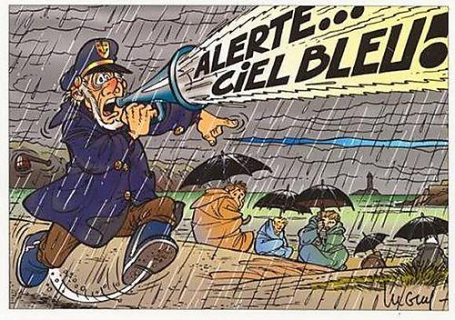 humour absurde pluie bretagne