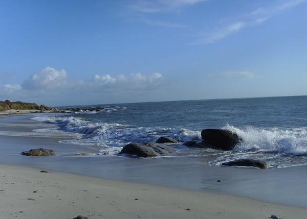 La plage de Kermyl