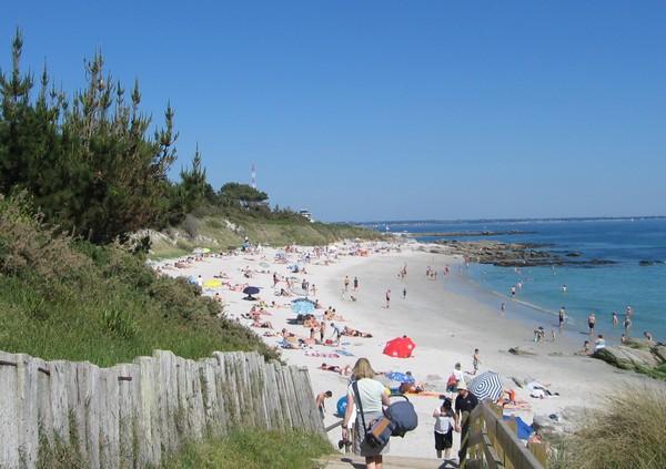 Les plages de beg meil vacances fouesnant bretagne sud for Camping de la piscine fouesnant
