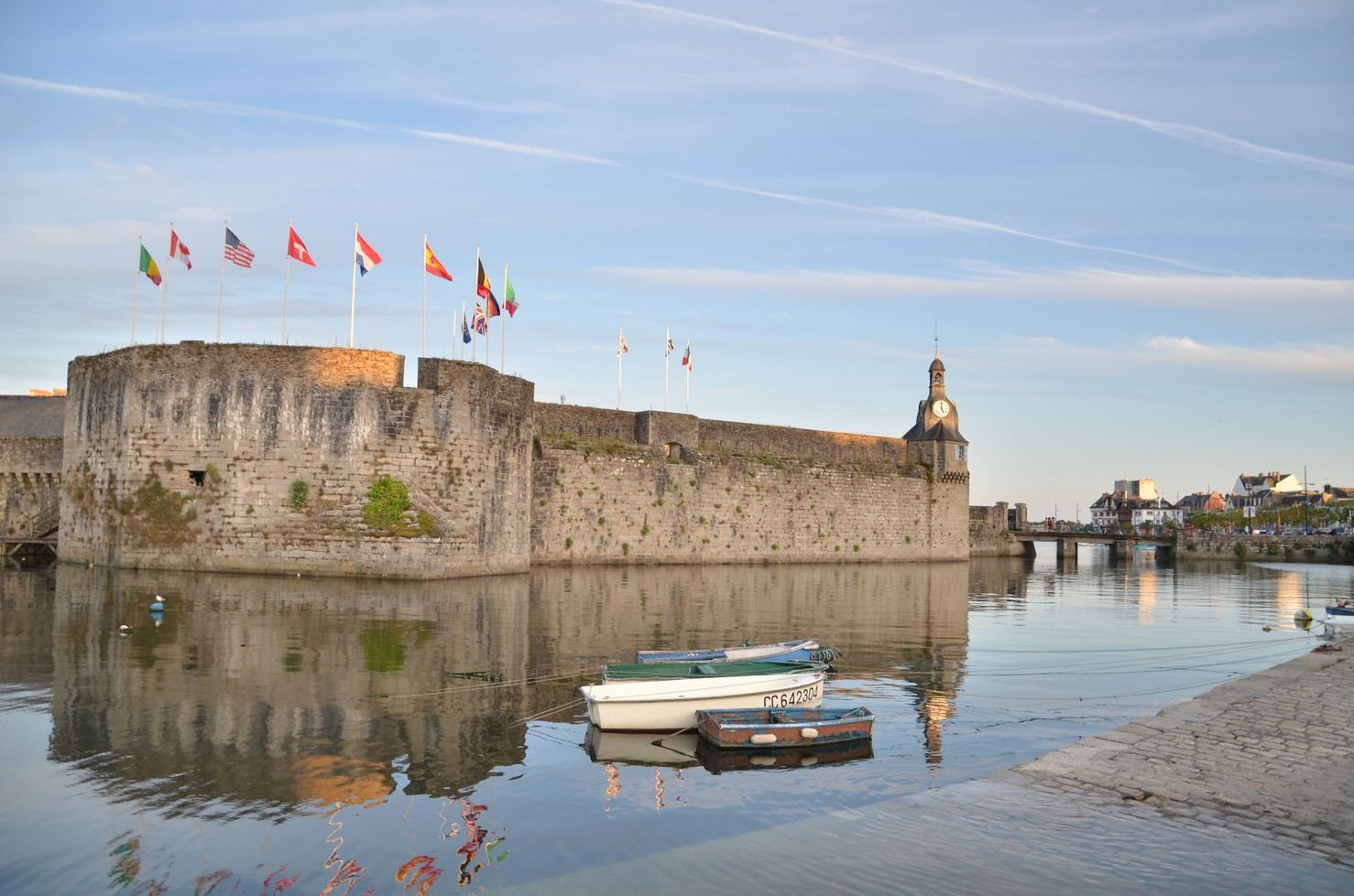 La visite de la ville close concarneau vacances for Piscine concarneau horaires