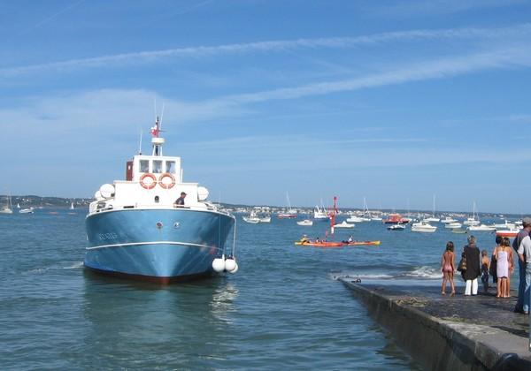 liaison Concarneau - Beg Meil en bateau